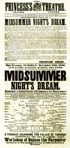 Theatre playbill